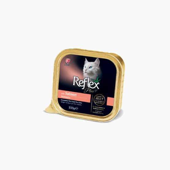 Reflex Plus Alu-Tray Cat Food (Salmon)