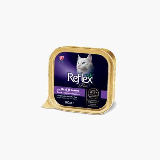 Reflex Plus Alu-Tray Cat Food (Beef & Game)