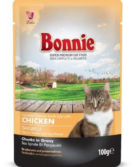 Bonnie Pouch Cat Food (Chicken in Gravy)