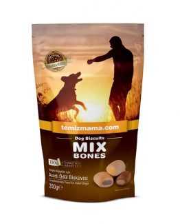 Temizmama Dog Biscuits, Mix Bones