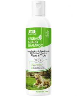 Bio Petactive Herbal Guard Shampoo for Dogs