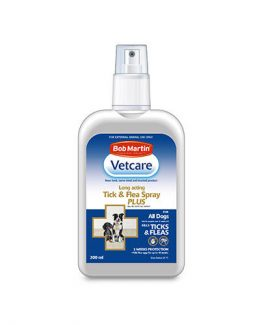 Bob Martin Vetcare Tick and Flea Spray Plus
