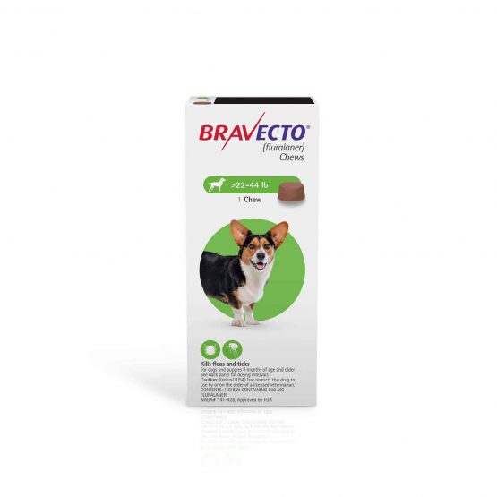Bravecto Flea and tick treatment for dogs, 1dose 10 kg - 20 kg