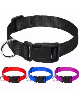 Adjustable Plain Nylon Collar