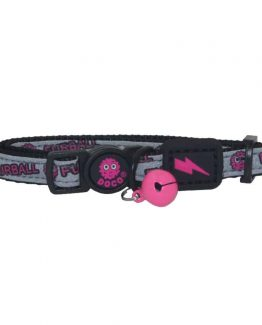 Doco Loco Cat Collar with Safety Buckle - pink
