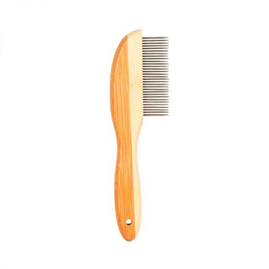 Duvoplus Bamboo Detangling Pet Grooming Comb