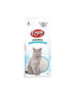 Enjoy Diatomite Non Clumping Cat Litter – (Unscented) 7L