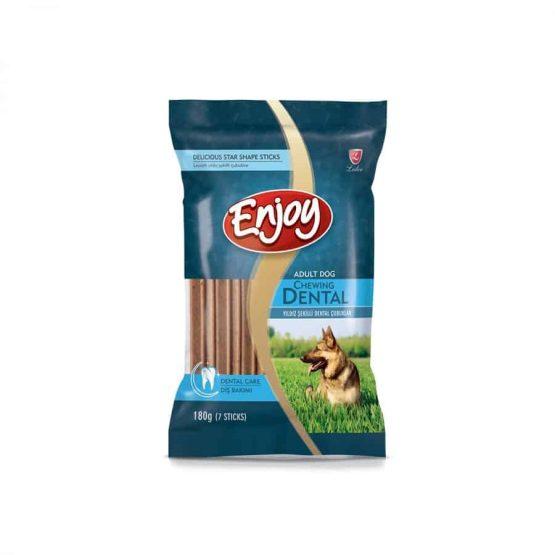 Enjoy Star Shape Dental Stick Treats for Dogs