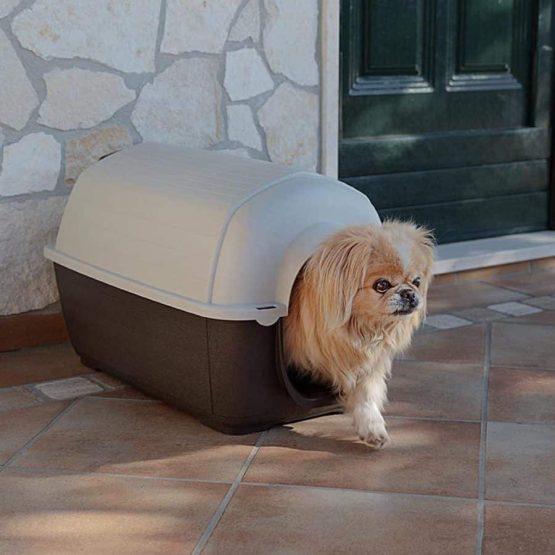 Ferplast Kenny Dog Kennel being used