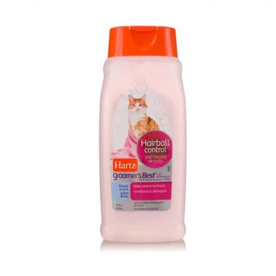 Hartz Groomers Best Hairball Control Cat Shampoo
