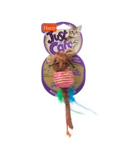 Hartz Just For Cats Roll About Mouse Cat Toy