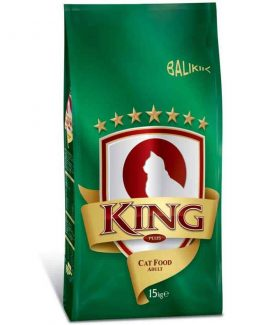 King Plus Adult Cat Food (Fish)
