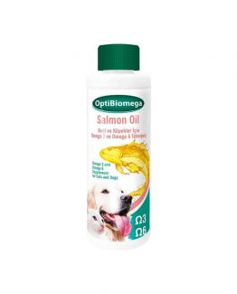 OptiBiomega Salmon Oil, Healthy Skin and Coat Support for Dogs and Cats