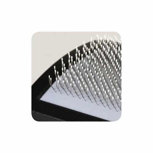 Padovan Curved Grooming Slicker Brush - closeup