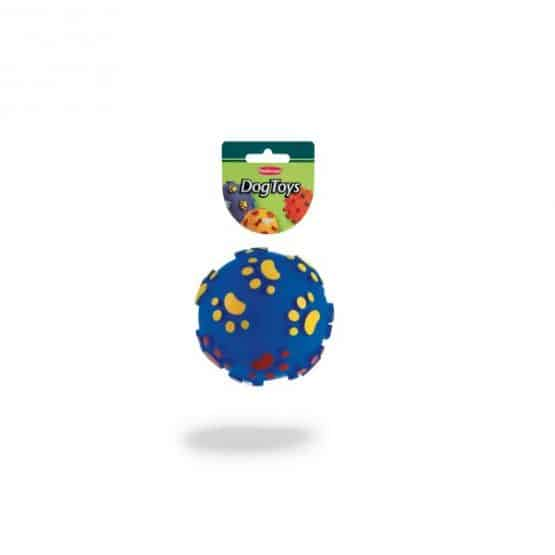 Padovan Toy Ball with Paws - blue