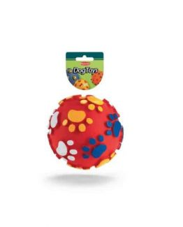 Padovan Toy Ball with Paws - red