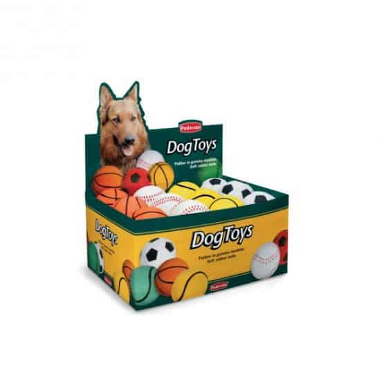 Padovan Toy Soft rubber ball for dogs