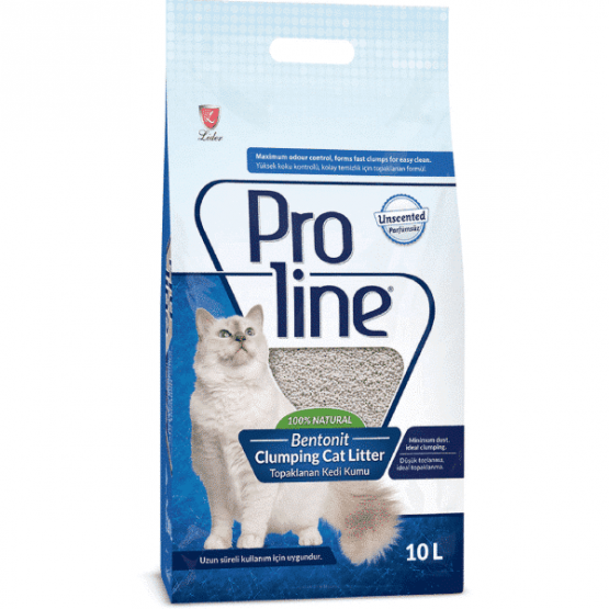 ProLine-Bentonit-Cat-Litter-Unscented-10L