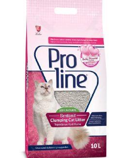 Proline Bentonit Cat Litter (Baby Powder Scented) - 10 L