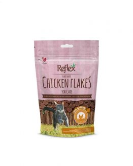 Reflex Chicken Flake Treats for Cats