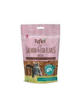 Reflex Mini Salmon & Cod Flake Treats for Cats