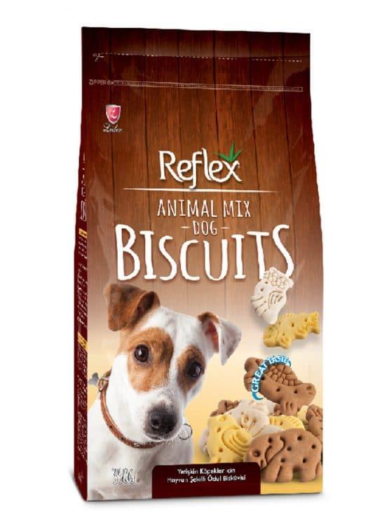 Reflex Treats Animal Mix Dog Biscuits