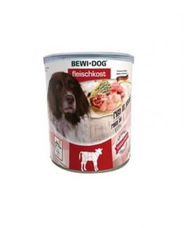 Bewi Dog Canned Wet Dog Food Rich In Veal
