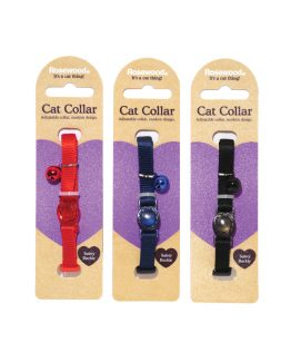 RoseWood Plain Nylon Cat Collar