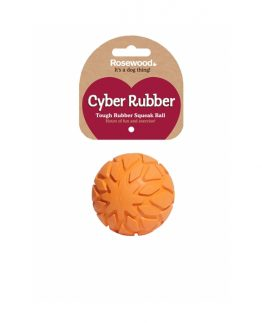 Rosewood Tough Rubber Squeak Ball