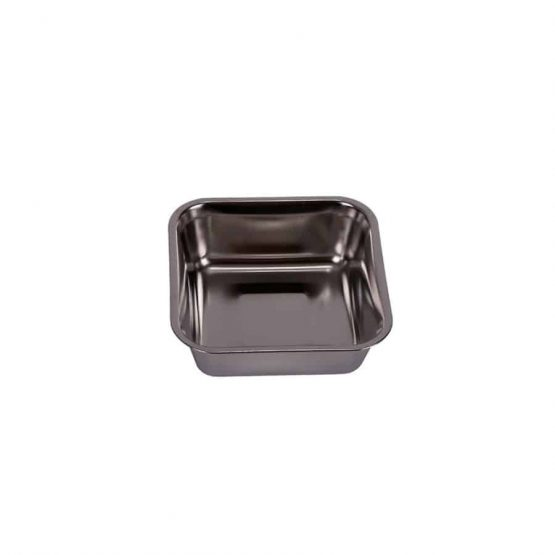 Stainless Steel Double Dog Feeding Bowl - steel