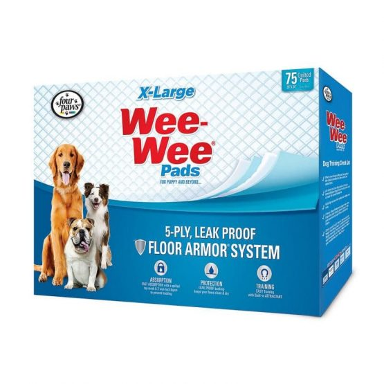 Wee-Wee Super Absorbent Pads For Puppies and Beyond