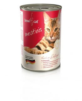 bewi cat meatinis poultry cat food