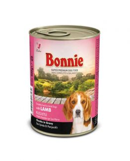 Bonnie Canned Dog food (Lamb in Gravy)