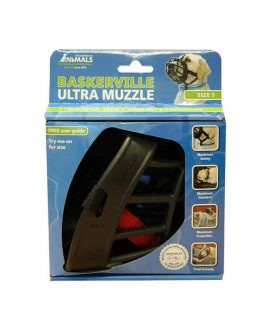 company of animals baskerville ultra dog muzzle - packaging