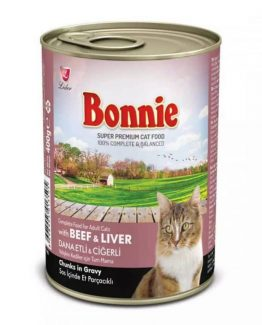 Bonnie Canned Cat food (Beef & Liver in Gravy)
