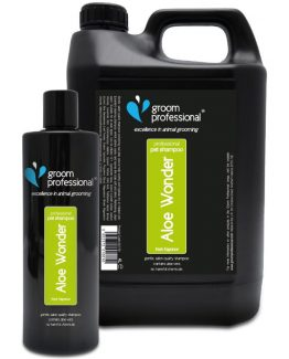 groom professional-shampoo-aloe-wonder