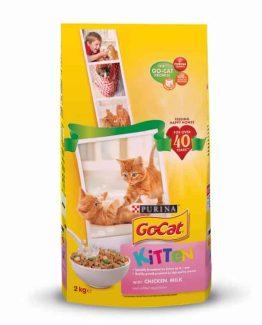 Purina Go-Cat Kitten Food (Chicken, Milk, Vegetables)